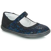 Παπούτσια Κορίτσι Μπαλαρίνες GBB PLACIDA Ctu /  marine-μαυρο / Dpf /  cuba