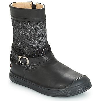 Παπούτσια Κορίτσι Μπότες για την πόλη GBB ROLANDE Black