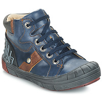 Παπούτσια Αγόρι Ψηλά Sneakers GBB RENZO Μπλέ
