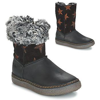 Παπούτσια Κορίτσι Μπότες για την πόλη GBB DUBROVNIK Black / Grey