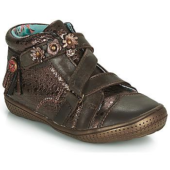 Παπούτσια Κορίτσι Μπότες Catimini ROQUETTE Brown / Gold