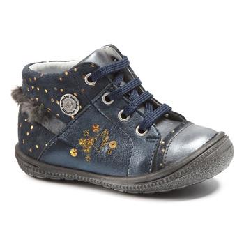 Παπούτσια Κορίτσι Μπότες Catimini RIKI Vtc / ΜΠΛΕ ΠΟΥΑ / Dore / Dpf / 2822