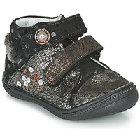 Παπούτσια Κορίτσι Μπότες Catimini ROSSIGNOL Black / Gold