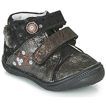 Παπούτσια Μπότες Catimini ROSSIGNOL Vtc / ΜΑΥΡΟ-ΧΑΛΚΙΝΟ / Dpf / 2822
