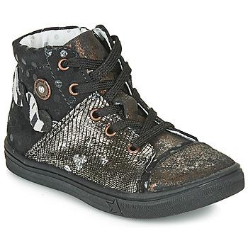 Ψηλά Sneakers Catimini ROUSSEROLLE ΣΤΕΛΕΧΟΣ: Δέρμα & ΕΠΕΝΔΥΣΗ: Δέρμα & ΕΣ. ΣΟΛΑ: Δέρμα & ΕΞ. ΣΟΛΑ: Καουτσούκ