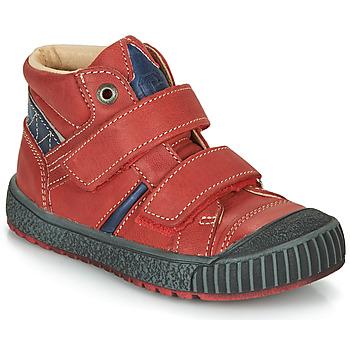 Παπούτσια Αγόρι Μπότες Catimini RAIFORT Vte / ΚΟΚΚΙΝΟ-ΜΠΛΕ / Dpf / Linux