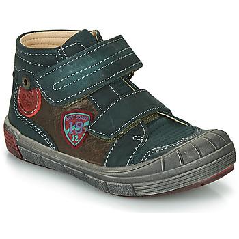 Παπούτσια Αγόρι Ψηλά Sneakers Catimini ROMARIN Μπλέ / Brown