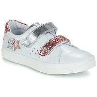 Παπούτσια Κορίτσι Μπότες για την πόλη GBB SANDRA Vte / Nacre-ΡΟΖ / Dpf / Dolby