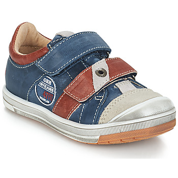 Παπούτσια Αγόρι Χαμηλά Sneakers GBB SERGE Μπλέ / Grey / Red