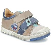 Παπούτσια Αγόρι Χαμηλά Sneakers GBB SERGE Grey / Μπλέ