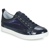 Παπούτσια Κορίτσι Μπότες για την πόλη GBB ISIDORA Μπλέ / Marine