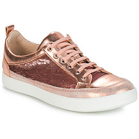 Παπούτσια Κορίτσι Μπότες για την πόλη GBB ISIDORA Vts / ΡΟΖ-ΧΡΥΣΑΦΙ / Dpf / 2706