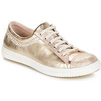 Παπούτσια Κορίτσι Μπότες GBB GINA Vte / Μπέζ-χρυσό / Dpf / 2835