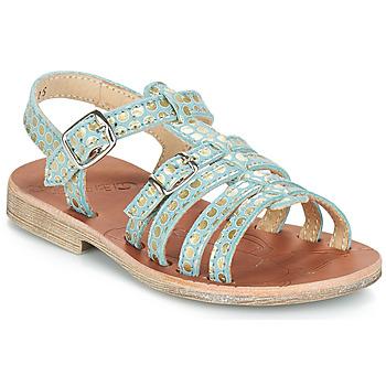 Παπούτσια Κορίτσι Σανδάλια / Πέδιλα GBB BANGKOK Green / Gold