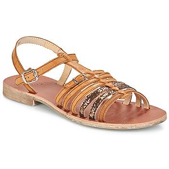 Παπούτσια Κορίτσι Σανδάλια / Πέδιλα GBB BANGKOK Vts / ΚΑΦΕ-ΠΑΓΙΕΤΕΣ / Dpf / Coca