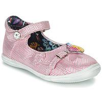 Παπούτσια Κορίτσι Σανδάλια / Πέδιλα Catimini SITELLE Vte / ΡΟΖ-ΑΣΗΜΙ / Dpf / 2851