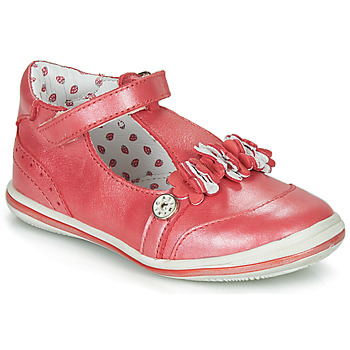 Παπούτσια Κορίτσι Μπαλαρίνες Catimini SANTOLINE Vte / Red / Nacre / Dpf / 2851