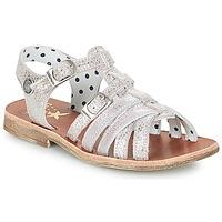 Παπούτσια Κορίτσι Σανδάλια / Πέδιλα Catimini SAULE Argenté / Ροζ