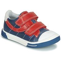 Παπούτσια Αγόρι Χαμηλά Sneakers Catimini SORBIER Μπλέ / Red