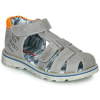 Παπούτσια Αγόρι Σανδάλια / Πέδιλα Catimini SYCOMORE Grey / Orange