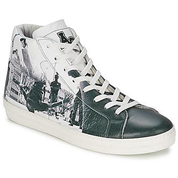 Παπούτσια Άνδρας Ψηλά Sneakers American College BREAKDANCE Black / άσπρο