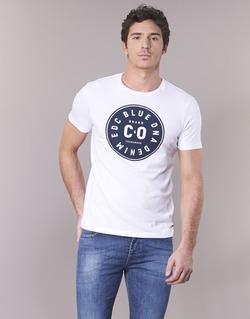 Υφασμάτινα Άνδρας T-shirt με κοντά μανίκια Esprit GRAHAM Άσπρο