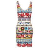 Υφασμάτινα Γυναίκα Κοντά Φορέματα Desigual OCONDE Multicolore