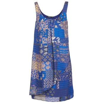 Υφασμάτινα Γυναίκα Κοντά Φορέματα Desigual OFFOELA Μπλέ. Αποθήκευση.  Προσφορες 6e6c585d37d