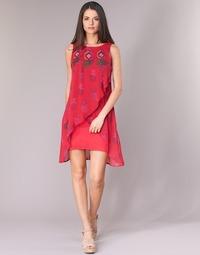 Υφασμάτινα Γυναίκα Κοντά Φορέματα Desigual DORIJE Red
