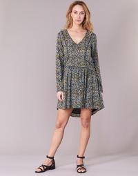Υφασμάτινα Γυναίκα Κοντά Φορέματα Kaporal VERA Beige / Multicolore