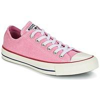 Παπούτσια Γυναίκα Χαμηλά Sneakers Converse Chuck Taylor All Star Ox Stone Wash Ροζ
