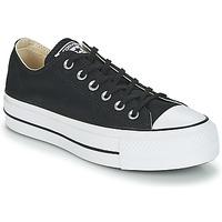 Παπούτσια Γυναίκα Χαμηλά Sneakers Converse Chuck Taylor All Star Lift Clean Ox Core Canvas Black