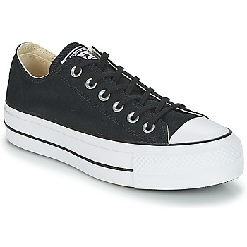 Παπούτσια Γυναίκα Χαμηλά Sneakers Converse Chuck Taylor All Star Lift Clean Ox Core Canvas Black