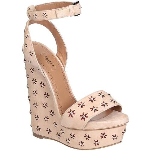 Παπούτσια Γυναίκα Σανδάλια / Πέδιλα Alaia 6E3X842CC06 Nudo