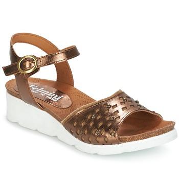 Παπούτσια Γυναίκα Σανδάλια / Πέδιλα Felmini BRONZINO Bronze
