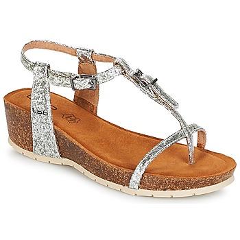 Παπούτσια Γυναίκα Σανδάλια / Πέδιλα LPB Shoes KISS Silver