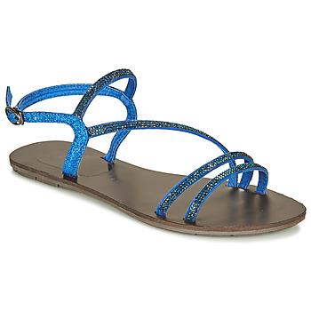 Παπούτσια Γυναίκα Σανδάλια / Πέδιλα Les Petites Bombes NELLY Μπλέ