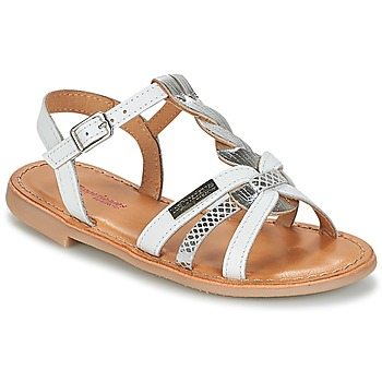 Παπούτσια Κορίτσι Σανδάλια / Πέδιλα Les Tropéziennes par M Belarbi BADAMI Άσπρο / Silver