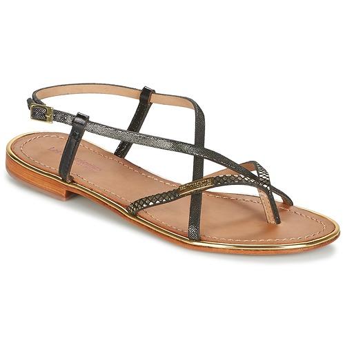 Παπούτσια Γυναίκα Σανδάλια / Πέδιλα Les Tropéziennes par M Belarbi MONACO Black / Gold