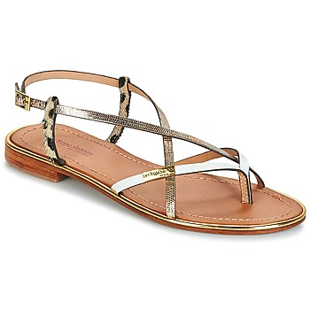 Παπούτσια Γυναίκα Σανδάλια / Πέδιλα Les Tropéziennes par M Belarbi MONACO Gold