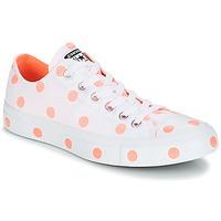 Παπούτσια Γυναίκα Χαμηλά Sneakers Converse Chuck Taylor All Star-Ox Άσπρο / Orange