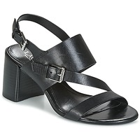 Παπούτσια Γυναίκα Σανδάλια / Πέδιλα Lauren Ralph Lauren FLORIN Black