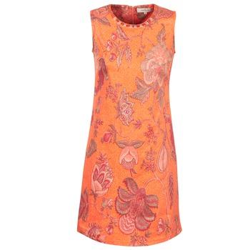 Υφασμάτινα Γυναίκα Κοντά Φορέματα Derhy ANTILLAIGAN Orange