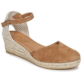 Παπούτσια Γυναίκα Σανδάλια / Πέδιλα Betty London INONO Camel