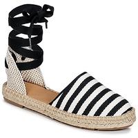 Παπούτσια Γυναίκα Εσπαντρίγια Betty London INANO Black / Άσπρο
