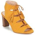 Παπούτσια Γυναίκα Σανδάλια / Πέδιλα Betty London EVENE Yellow