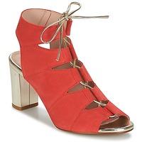 Παπούτσια Γυναίκα Σανδάλια / Πέδιλα Betty London INALU Red