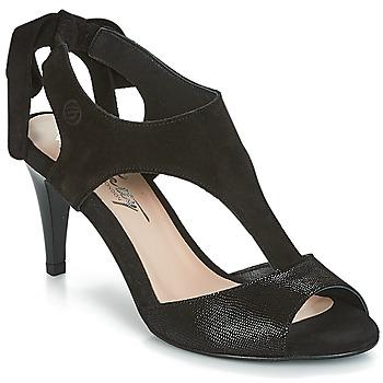 Παπούτσια Γυναίκα Σανδάλια / Πέδιλα Betty London INILAVE Black