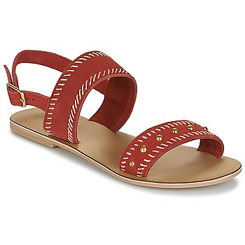 Παπούτσια Γυναίκα Σανδάλια / Πέδιλα Betty London IKARI Red