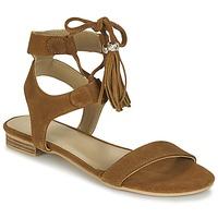 Παπούτσια Γυναίκα Σανδάλια / Πέδιλα Betty London IKARA Brown
